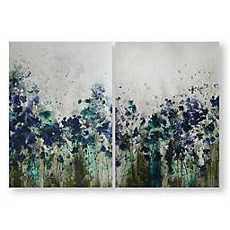 Peaceful Prairie 20-Inch x 28-Inch Canvas Wall Art (Set of 2)