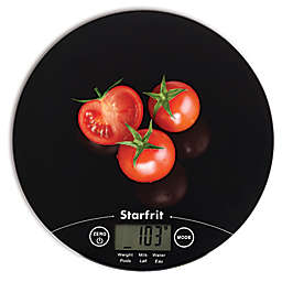 Starfrit™ Ultra-Slim Kitchen Scale in Black