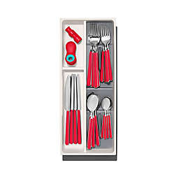 OXO Good Grips® Compact Utensil Organizer in Grey/White<br />