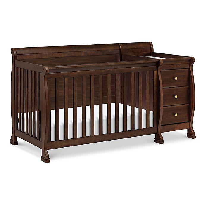 Alternate image 1 for DaVinci Kalani 4-in-1 Convertible Crib & Changer