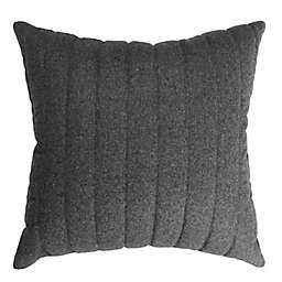 Simply Essential™ Stitched Square Throw Pillow in Grey