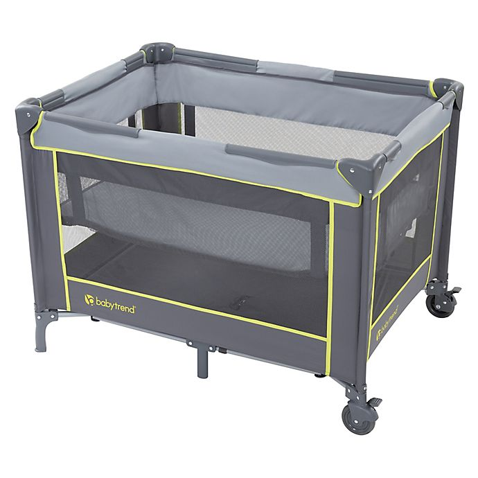 Alternate image 1 for Baby Trend® Portable Playard with Bassinet