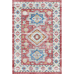Rugs America Iggi Righteous Rosie 8' x 10' Area Rug in Red
