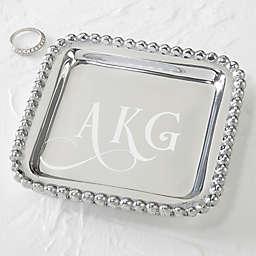Mariposa® String of Pearls Monogram Jewelry Tray
