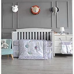 Nipperland® 4-Piece Astronaut Bear Crib Bedding Set