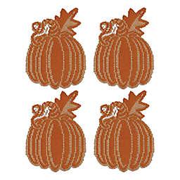 Heritage Lace® Pumpkin Vine Doilies in Orange (Set of 4)