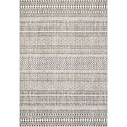 nuLOOM Catherine Henna Tribal Bands 2' x 3' Accent Rug in Off White