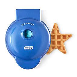 Dash® Star Mini Waffle Maker in Navy Blue