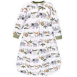 Hudson Baby® Safari Life Quilted Long Sleeve Wearable Blanket in Grey
