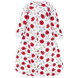Hudson Baby® Size 0-6M Poppy Quilted Long Sleeve Wearable Blanket in Red