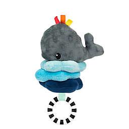 Sassy Wavy Whale  Attachable Developmental Jitter