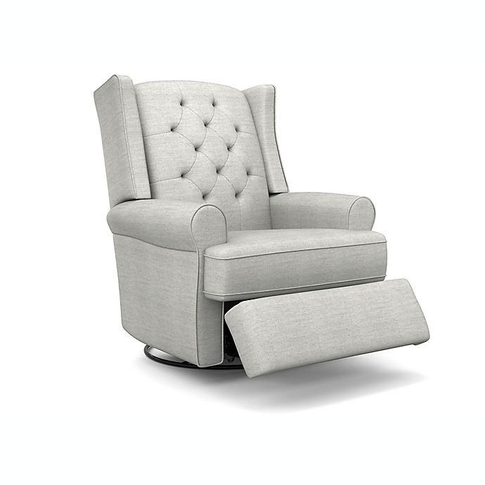 Alternate image 1 for Best Chairs Finley Swivel Glider Recliner