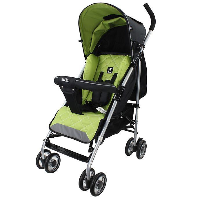 Alternate image 1 for Evezo Travis Luxury Lightweight Umbrella Stroller in Green