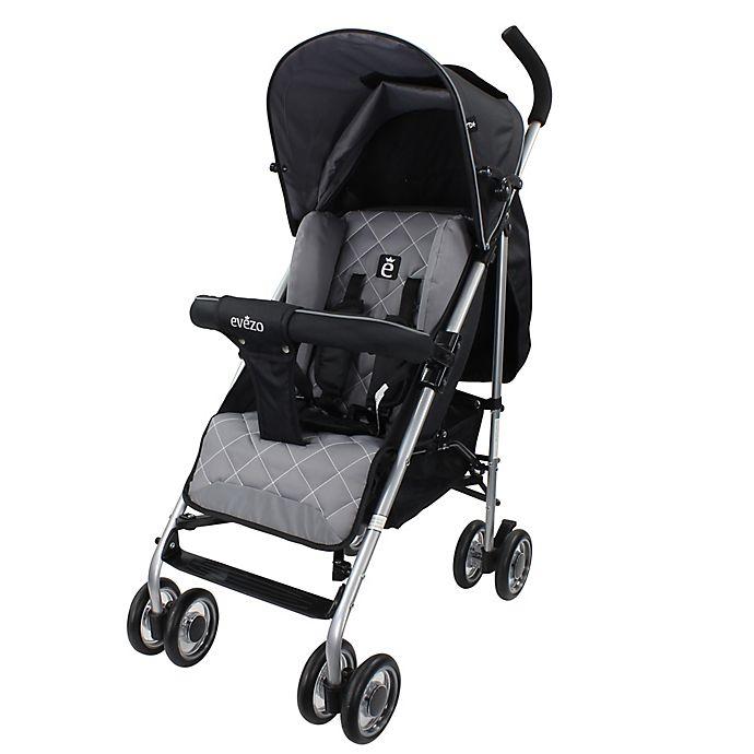 Alternate image 1 for Evezo Travis Luxury Lightweight Umbrella Stroller