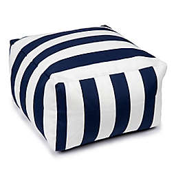 W Home™ Cabana Outdoor Square Bistro Cushion in Navy/White