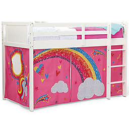 Delta Children® JoJo Siwa Loft Bed Tent in Pink