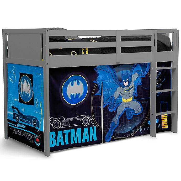 Alternate image 1 for Delta Children® Batman Lofted Bed Tent in Black