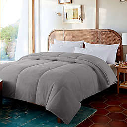 Feather and Loom White Duck Down Reversible Comforter