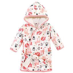 Hudson Baby® Size 0-9M Forest Cotton Rich Bathrobe