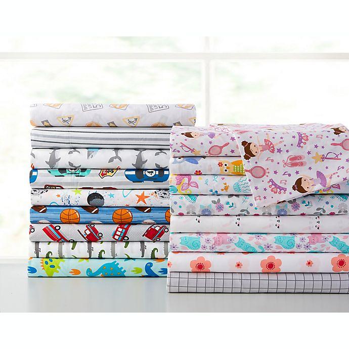 Alternate image 1 for Kute Kids Floral Sheet Set