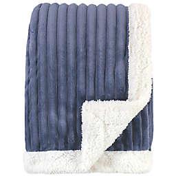 Hudson Baby® Corduroy Baby Blanket in Blue