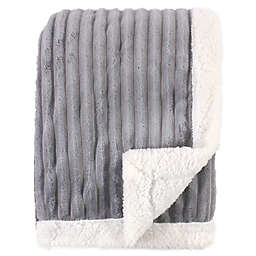 Hudson Baby® Corduroy Baby Blanket in Grey