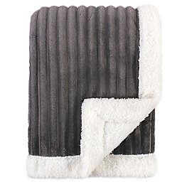 Hudson Baby® Corduroy Baby Blanket in Charcoal