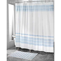Avanti Hampton Stripe Shower Curtain
