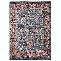 Conccord Global Alexander Traditional Rug in Blue