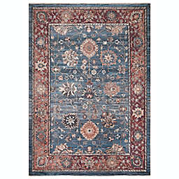 Conccord Global Alexander Traditional 10' x 10'6 Area Rug in Blue