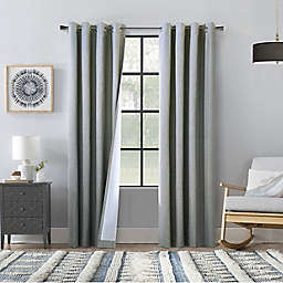 Commonwealth Home Fashions ThermaPlus Bedford Blackout Curtain Panel Pair (Set of 2)