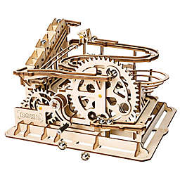 Marble Parkour DIY 3D Wooden Moving Gears Kit