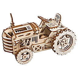 Tractor DIY 3D Wooden Moving Gears Kit