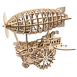 Air Ship DIY 3D Wooden Moving Gears Kit