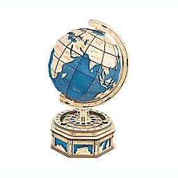 Globe DIY 3D Wooden Moving Gears Kit