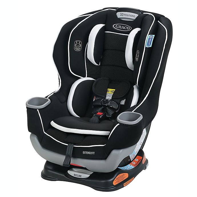 Alternate image 1 for Graco® Extend2Fit® Convertible Car Seat in Binx