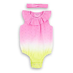 Sovereign Code® Lina Romper with Headband in Pink Neon