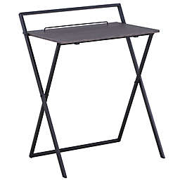 Simply Essential™ Folding Desk in Black