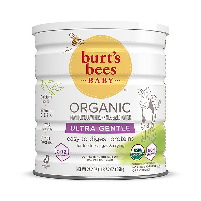 Alternate image 1 for Burt's Bees Baby® 23.2 oz. Organic Ultra Gentle Powder Formula