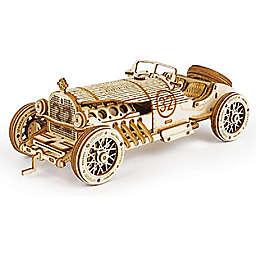 V8 Grand Prix Car DIY 3D Wooden Puzzle