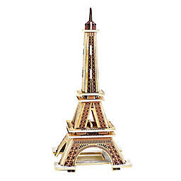 Hands Craft  Eiffel Tower 22-Piece DIY 3D Wooden Puzzle