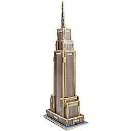 Hands Craft Empire State Building 34-Piece DIY 3D Wooden Puzzle