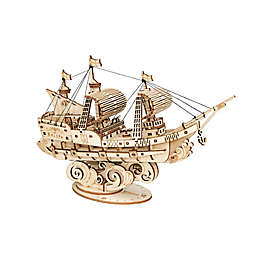 Sailing Ship DIY 3D Wooden Puzzle Model