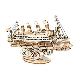 Cruise Ship DIY 3D Wooden Puzzle