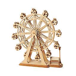 Hands Craft Ferris Wheel 120-Piece DIY 3D Wooden Puzzle