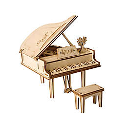 Hands Craft Piano 74-Piece DIY 3D Wooden Puzzle
