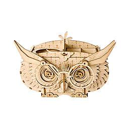 Hands Craft Owl Storage Box 61-Piece DIY 3D Wooden Puzzle