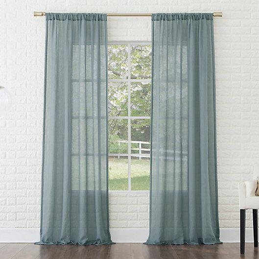Alternate image 1 for No. 918® Lourdes Rod Pocket Semi-Sheer Window Curtain Panel (Single)