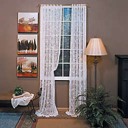 Coventry 84-Inch Ring Top Window Curtain Panel in Ivory (Single)
