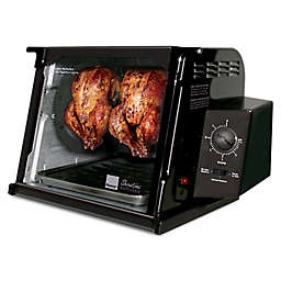 Ronco Showtime Classic Edition 4000 Series Rotisserie in Black